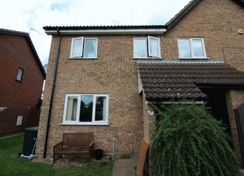 Thumbnail 2 bedroom semi-detached house to rent in Louthe Way, Sawtry, Huntingdon