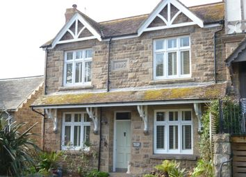 Thumbnail 3 bed semi-detached house for sale in Churchtown, Gulval, Penzance