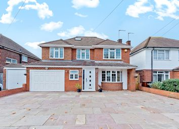 Thumbnail 5 bed detached house for sale in Aragon Avenue, East Ewell