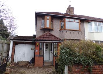 Thumbnail 3 bed semi-detached house for sale in Dundonald Road, Aigburth, Liverpool, Merseyside