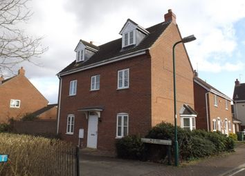Thumbnail 4 bed detached house to rent in Saunders Close, Peterborough