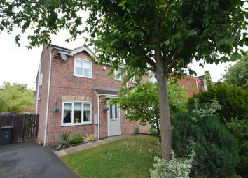 Thumbnail 3 bed semi-detached house for sale in Copse Close, Glen Parva, Leicester