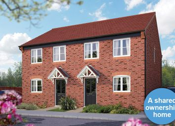"Thumbnail 2 bed semi-detached house for sale in ""The Mondrem"" at Ash Road, Cuddington, Northwich"