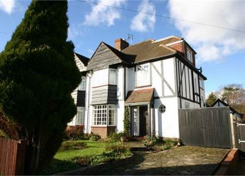 Thumbnail 4 bedroom semi-detached house to rent in West Way, Petts Wood, Orpington