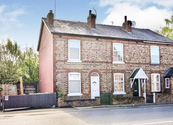 Thumbnail 2 bed end terrace house for sale in Wilmslow Road, Handforth, Wilmslow, Cheshire