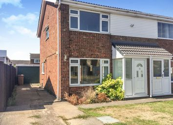 Thumbnail 3 bed semi-detached house for sale in Tamar Road, Melton Mowbray