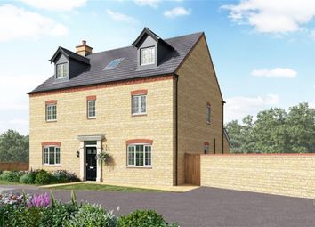 Thumbnail 5 bed detached house for sale in St Georges Fields, Wootton, Northampton