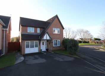 Thumbnail 4 bed detached house for sale in Mayflower Way, Rhoose, Barry
