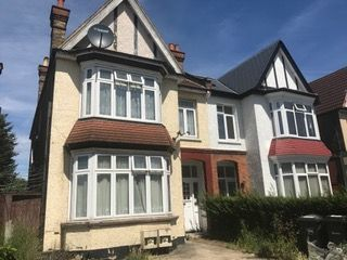 Thumbnail 2 bed flat to rent in Tibbenham Place, Fordmill Road, London