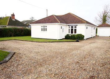 Thumbnail 4 bed detached bungalow for sale in Queen Street, Spooner Row, Wymondham