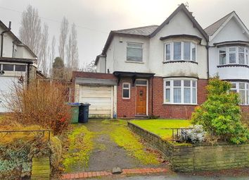 Thumbnail 3 bed semi-detached house for sale in Hall Green Road, West Bromwich