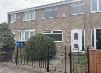 Thumbnail 3 bed terraced house for sale in Foxholme Road, Sutton-On-Hull, Hull