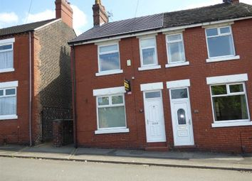 Thumbnail 3 bed semi-detached house for sale in George Street, Chesterton, Newcastle-Under-Lyme