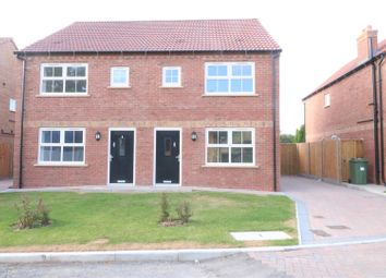 Thumbnail 3 bed semi-detached house for sale in 3 Ferryman Close, Ferry Road, Wawne