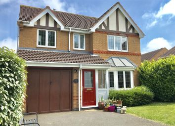 Thumbnail 4 bed detached house for sale in Clover Drive, Melton Mowbray
