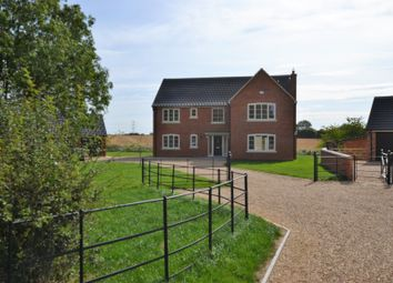 Thumbnail 5 bed detached house for sale in Dunham Road, Sporle, King's Lynn