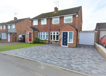 Thumbnail 3 bed semi-detached house for sale in Kipling Drive, Enderby, Leicester
