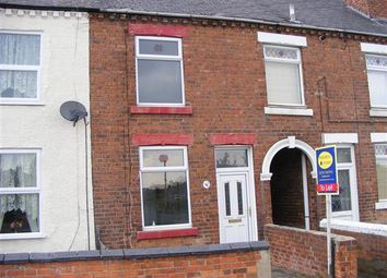 Thumbnail 2 bed terraced house to rent in Newthorpe Common, Newthorpe, Nottingham