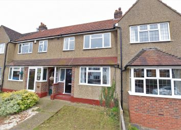 Thumbnail 3 bedroom terraced house for sale in Compton Crescent, Chessington