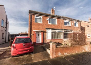 Thumbnail 3 bed semi-detached house for sale in Queens Drive, Billingham
