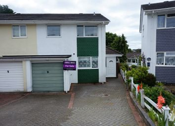 Thumbnail 3 bed semi-detached house for sale in Hobbs Crescent, Saltash