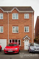 Thumbnail 5 bed town house to rent in Galingale View, Newcastle-Under-Lyme