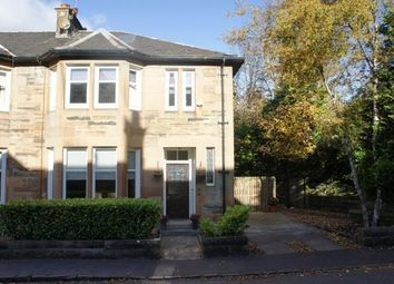 Thumbnail 3 bed end terrace house to rent in Orchard Park, Giffnock, Glasgow