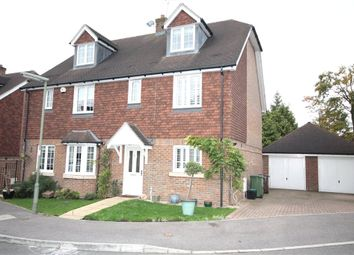 Thumbnail 4 bed semi-detached house for sale in Rowan Close, Banstead