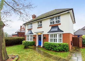 Thumbnail 4 bed detached house for sale in Marrabon Close, Sidcup