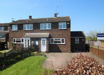 Thumbnail 3 bed semi-detached house for sale in Berryfields, Cheddington, Leighton Buzzard