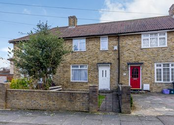 Thumbnail 3 bed terraced house to rent in Combermere Road, Morden