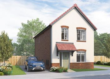 "Thumbnail 3 bed detached house for sale in ""The Kilmington"" at Skinner Street, Creswell, Worksop"
