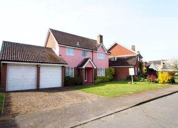 Thumbnail 4 bed detached house for sale in The Poplars, Forncett St. Peter, Norwich