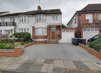 Thumbnail 4 bed semi-detached house for sale in Ridings Avenue, Grange Park