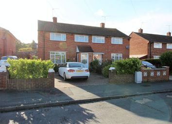 Thumbnail 3 bed semi-detached house to rent in Bentham Avenue, Woking