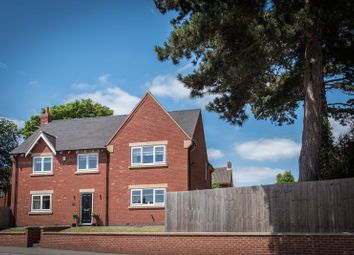Thumbnail 4 bed detached house for sale in Christchurch Lane, Lichfield