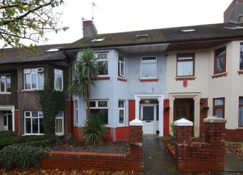 Thumbnail 5 bed terraced house for sale in Melrose Avenue, Penylan, Cardiff