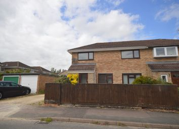 Thumbnail 3 bed semi-detached house for sale in Hallsfield, Cricklade, Swindon