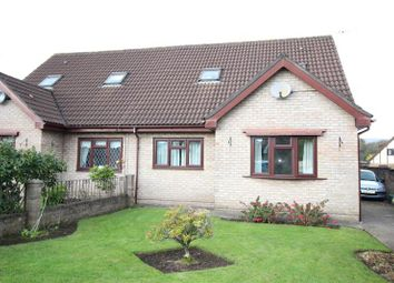 Thumbnail 3 bed semi-detached bungalow to rent in Heol Y Gors, Caerphilly