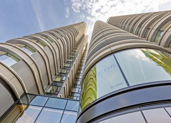 Thumbnail 1 bed flat for sale in The Corniche, Tower One, 23 Albert Embankment, London