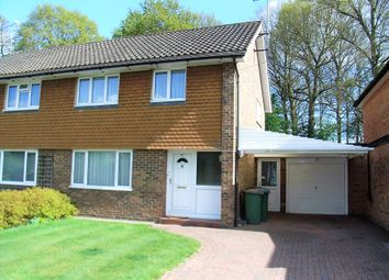 Thumbnail 3 bedroom semi-detached house for sale in Waverley Road, Oxshott