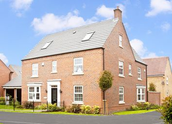 "Thumbnail 5 bed detached house for sale in ""Moorecroft"" at Fosse Road, Bingham, Nottingham"