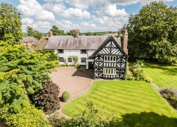 Thumbnail 5 bed detached house for sale in Bearstone, Market Drayton