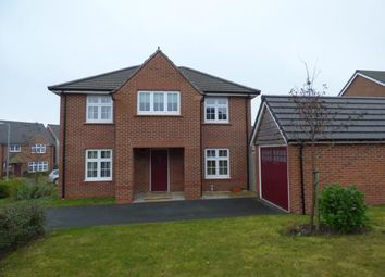 Thumbnail 4 bed detached house for sale in Fairwood Drive, Gwersyllt, Wrexham, Wrecsam