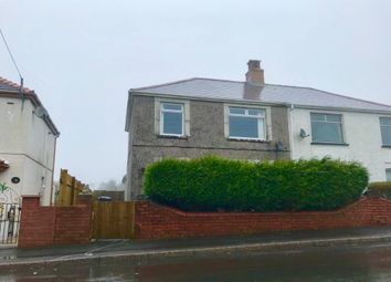 Thumbnail 3 bed semi-detached house for sale in Wembley Avenue, Onllwyn, Neath