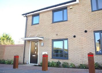 Thumbnail 3 bedroom end terrace house to rent in Watson Place, Haverhill, Suffolk