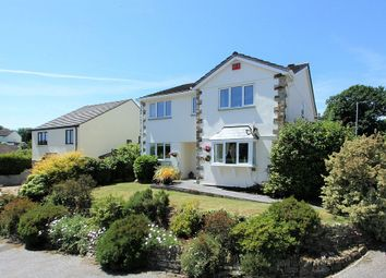 Thumbnail 4 bed detached house for sale in The Meadow, Polgooth, St. Austell, Cornwall