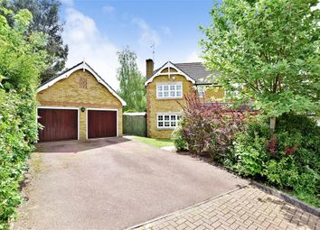 Thumbnail 4 bedroom detached house for sale in Oldbury Close, Horsham, West Sussex