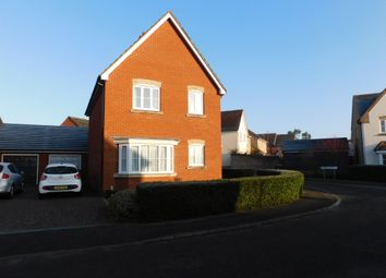 3 bed detached house for sale in Dunnock Close, Stowmarket IP14
