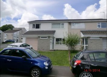 Thumbnail 3 bedroom end terrace house to rent in Penbryn, Lampeter